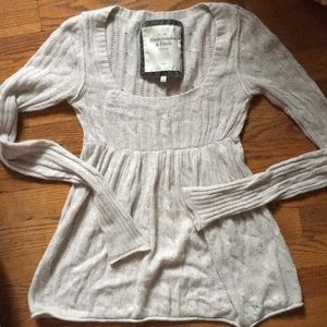 Abercrombie & Fitch knit long sleeve top
